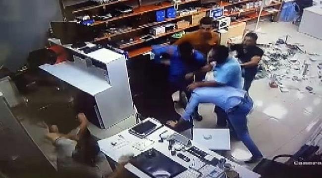 İş Yerinde Saldırıya Uğradılar