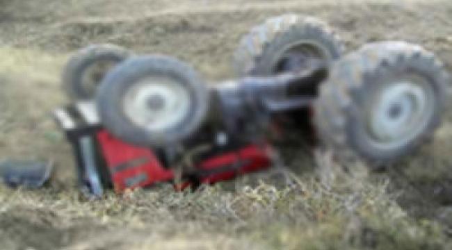 Traktör Devrildi: 6 Yaralı